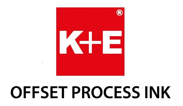 K+E หมึกพิมพ์ออฟเซ็ท