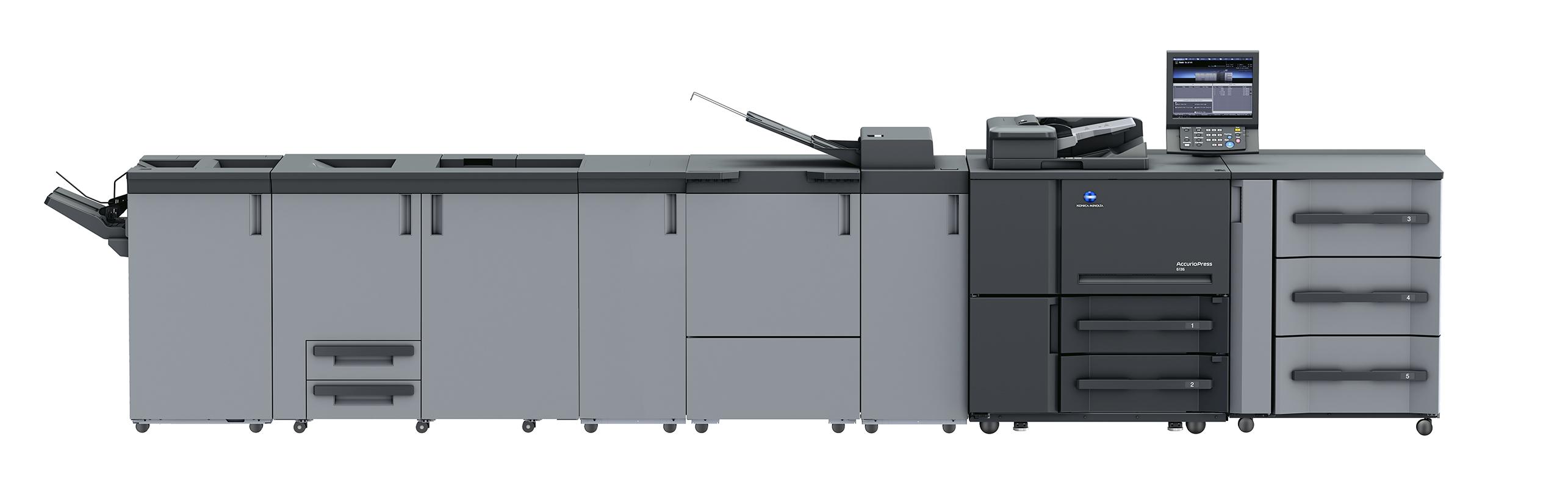 เครื่องพิมพ์ดิจิตอลสีรุ่น AccurioPress 6136 / 6120