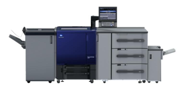 เครื่องพิมพ์ดิจิตอลสีรุ่น AccurioPress C3070 / C3080
