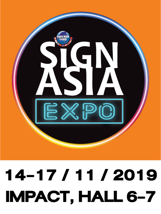พบกับสินค้าและนวัตกรรมใหม่ๆ ในงาน Sign Asia 2019 ที่ อิมแพค เมืองทอง