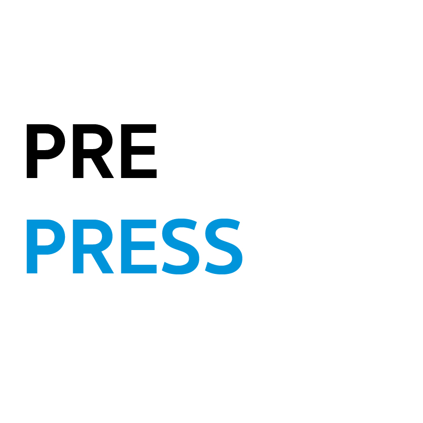 กลุ่มสินค้า Pre Press