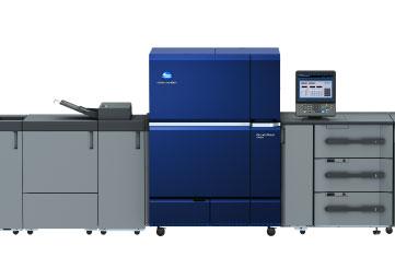 เครื่องพิมพ์ดิจิตอลป้อนแผ่น KONICA MINOLTA