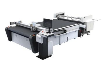 เครื่องตัดกระดาษลูกฟูก JINGWEI