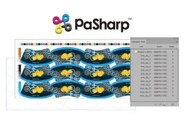 ซอฟต์แวร์ Pre Press สำหรับฉลาก และบรรจุภัณฑ์ PASHAP