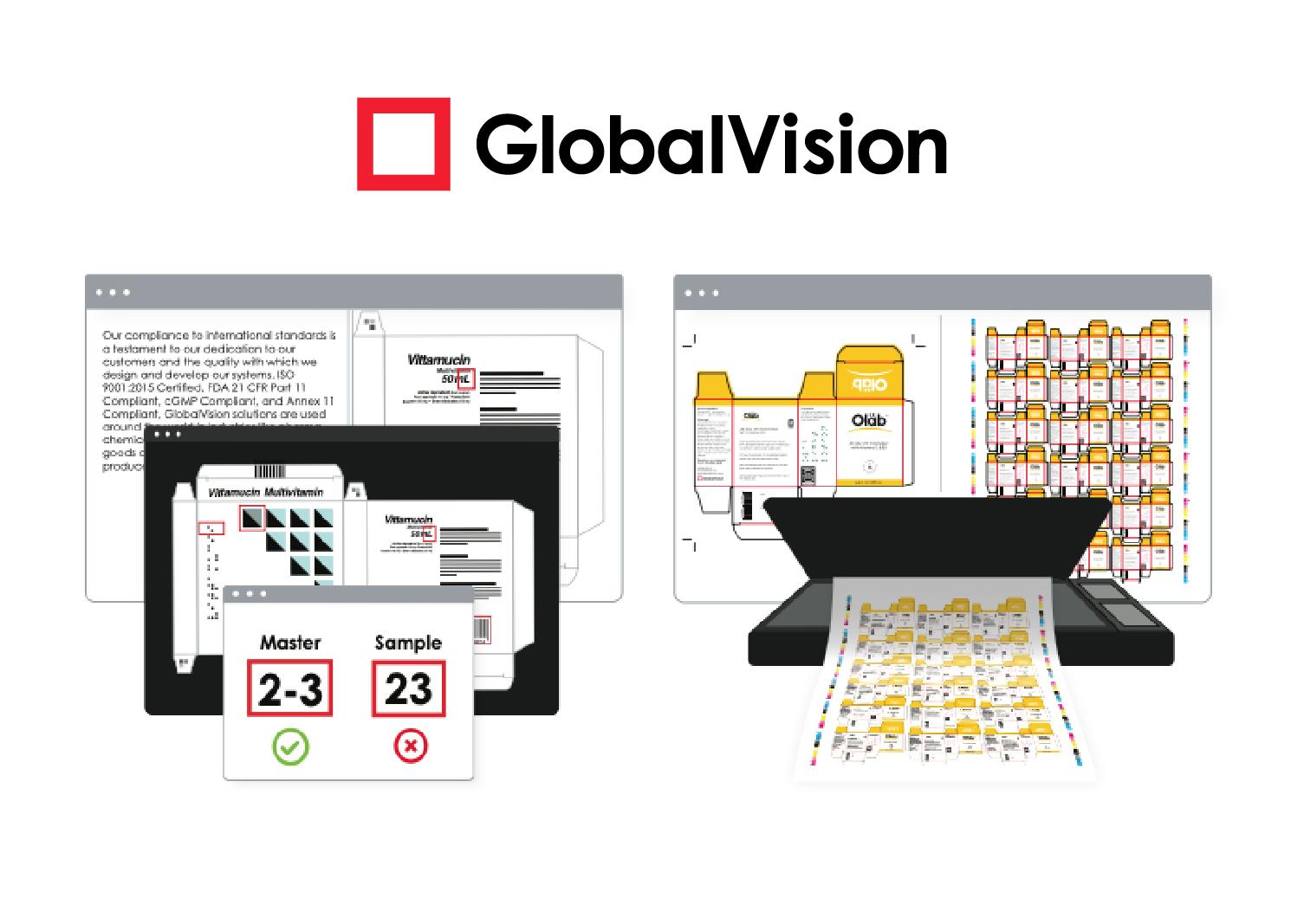 ซอฟต์แวร์ตรวจสอบคุณภาพงาน Global Vision