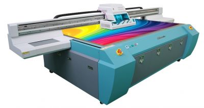 Challenger 2.5m x 1.25m Flatbed UV Printer