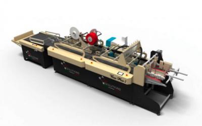 เครื่องปะกล่อง เครื่องยิงกาว APR SOLUTIONS รุ่น BOX PLUS2