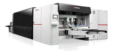 เครื่องพิมพ์ลูกฟูกดิจิตอล HANDWAY ระบบ single-pass รุ่น GLORY1604