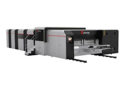 เครื่องพิมพ์กล่องกระดาษลูกฟูกดิจิตอล HANWAY รุ่น Glory 2504