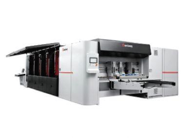 เครื่องพิมพ์กล่องกระดาษลูกฟูกดิจิตอล HANWAY รุ่น Glory 1604