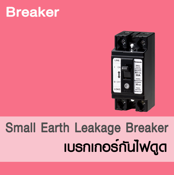 Small Earth Leakage Breaker