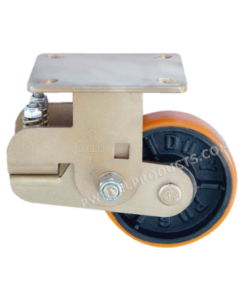 PU.Shock Absorbing Casters 6 swivel