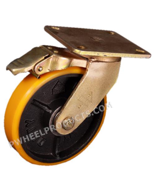 Polyurethane 8 Swivel-Brake R500