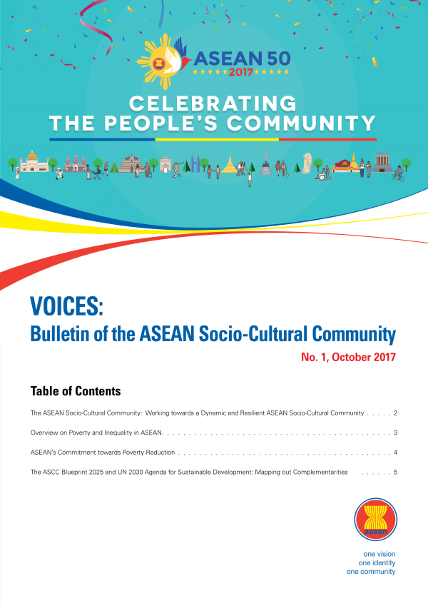 ASEAN launches VOICES: Bulletin of the ASEAN Socio-Cultural Community