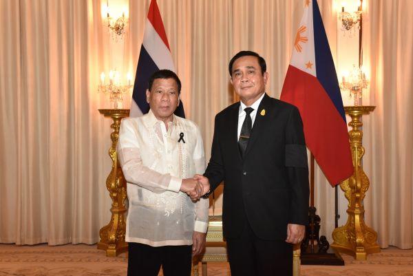 สรุปแถลงการณ์ต่อสื่อมวลชนในเดินทางเยือนประเทศไทยอย่างเป็นทางการของ ประธานาธิบดีฟิลิปปินส์