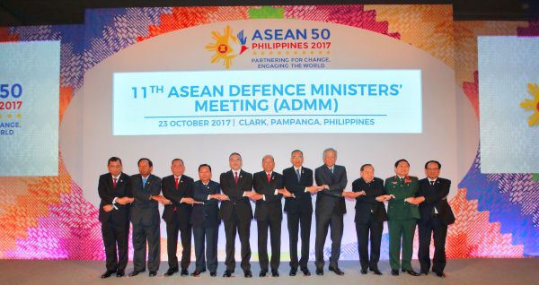 The 11th ASEAN Defence Ministers' Meeting (ADMM) and the 4th ADMM-Plus Meeting 23-24 October 2017, Clark, Pampanga, Philippines