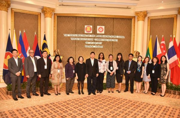 ASEAN signs Free Trad Agreement with Hong Kong