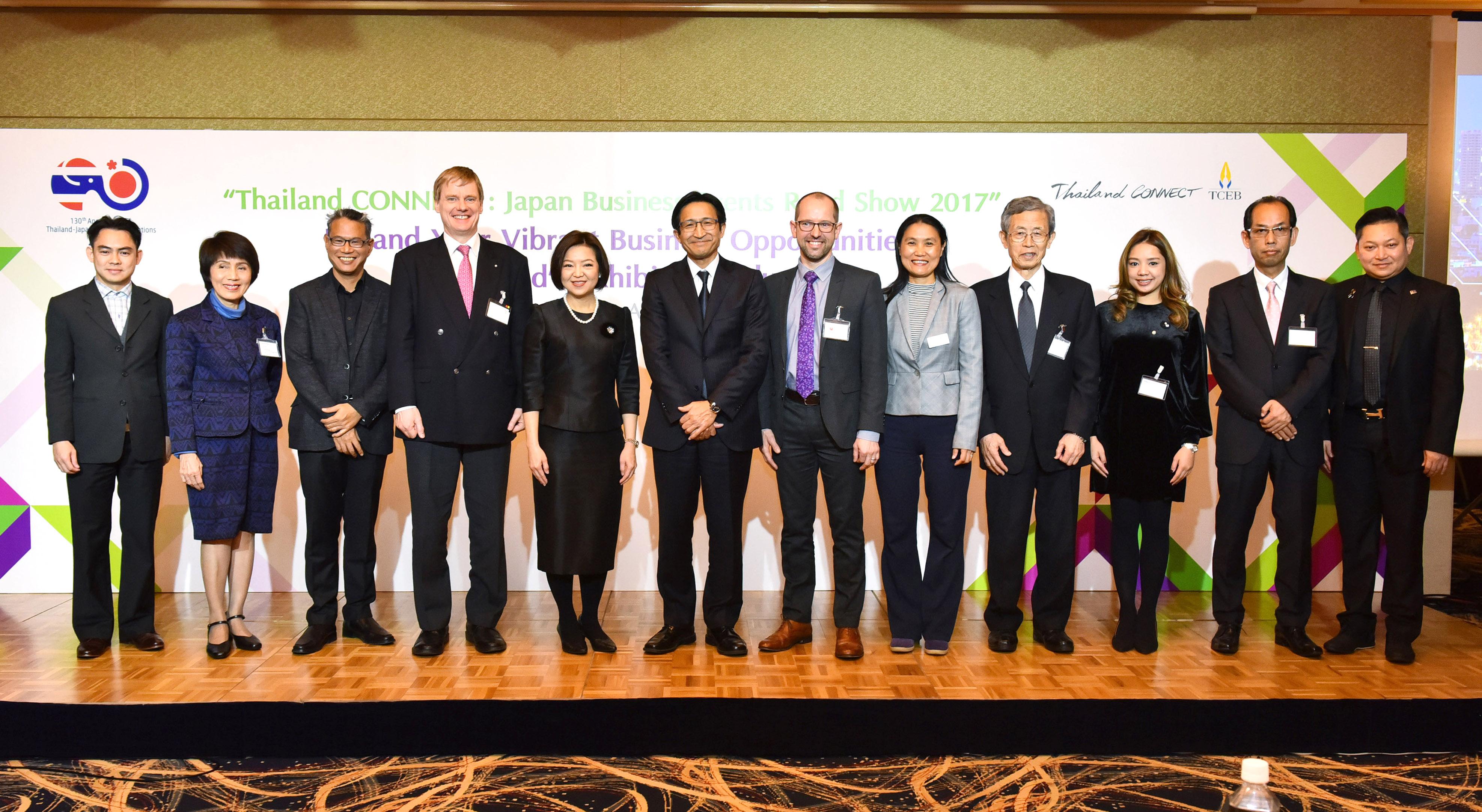 TTS 2017 ร่วมโร้ดโชว์ TCEB ณ ประเทศญี่ปุ่น พร้อมเดินหน้าประชาสัมพันธ์งานแก่กลุ่มเป้าหมายญี่ปุ่น