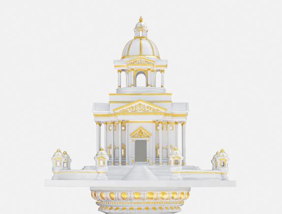 ศาลพระภูมิ ทรงโรมัน