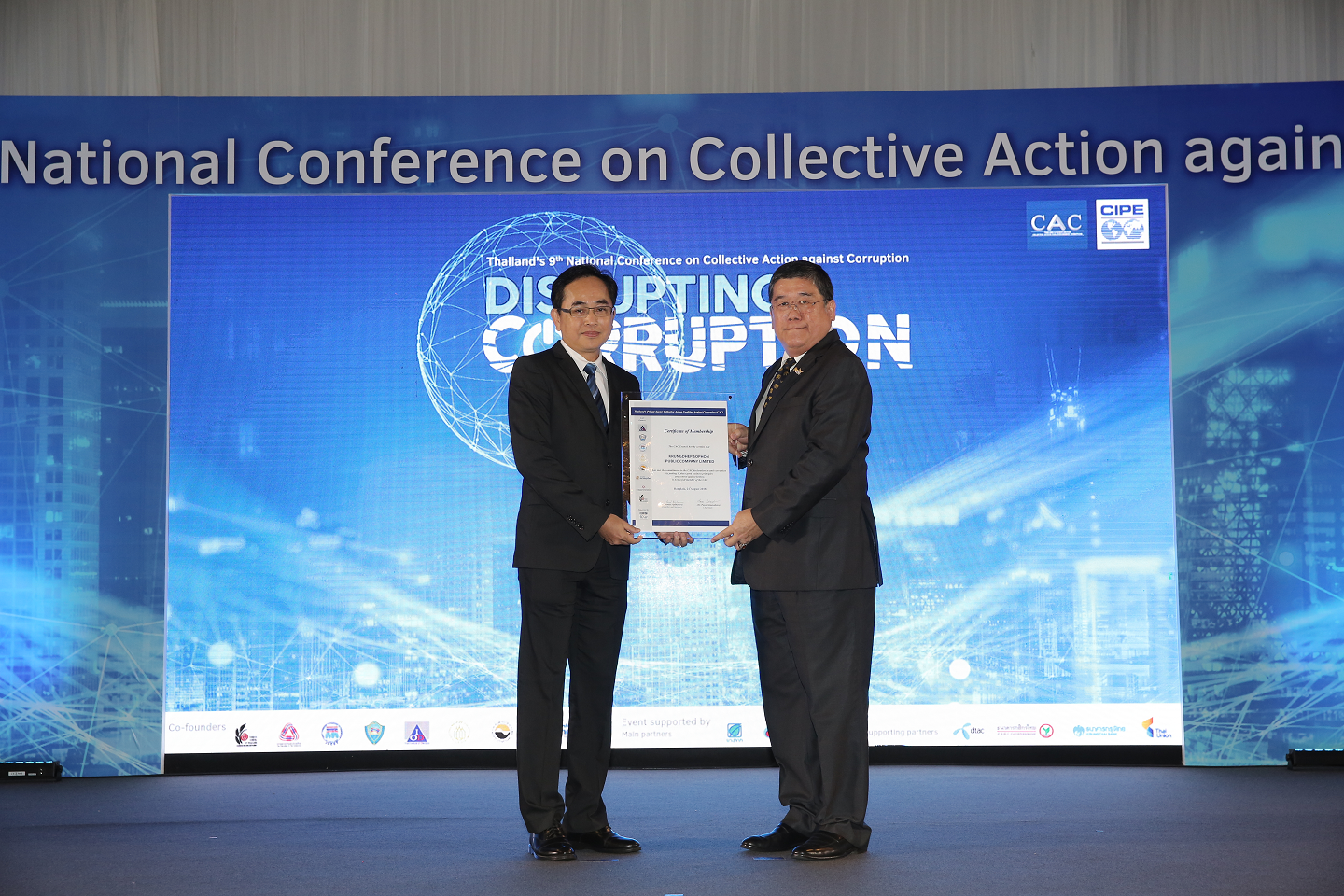 Collective Action Against Corruption CERTIFIED