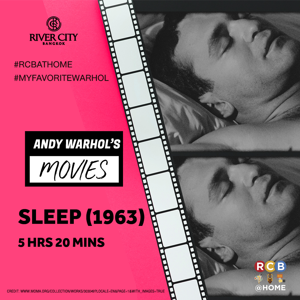 Shop@rivercity • Andy Warhol's Movies | News & Event