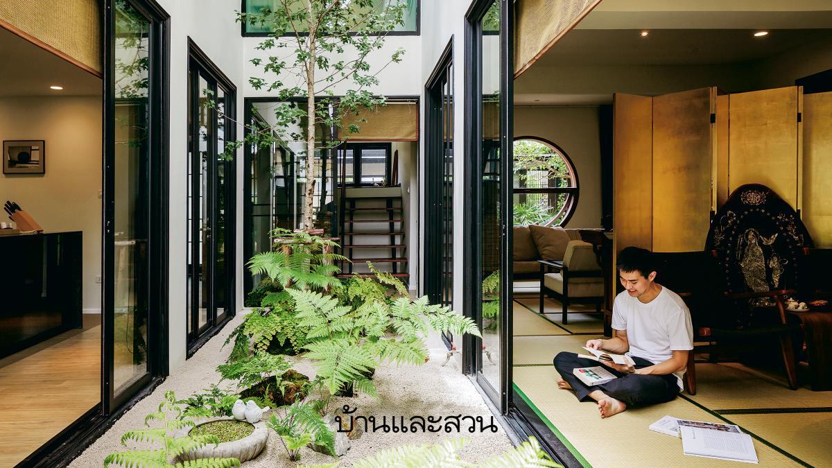 เปลี่ยนบ้านเก่าด้วยการรีโนเวทให้เป็น บ้านสไตล์ญี่ปุ่น ที่เงียบสงบ