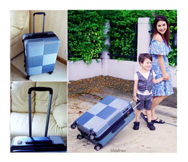 รีวิวกระเป๋าเดินทาง Caggioni Voyageur Luggage