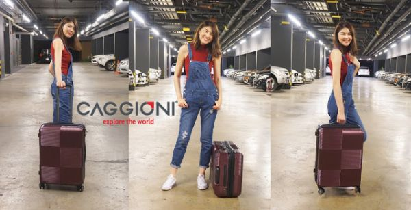 รีวิว กระเป๋าเดินทาง Caggioni รุ่น Voyageur Luggage
