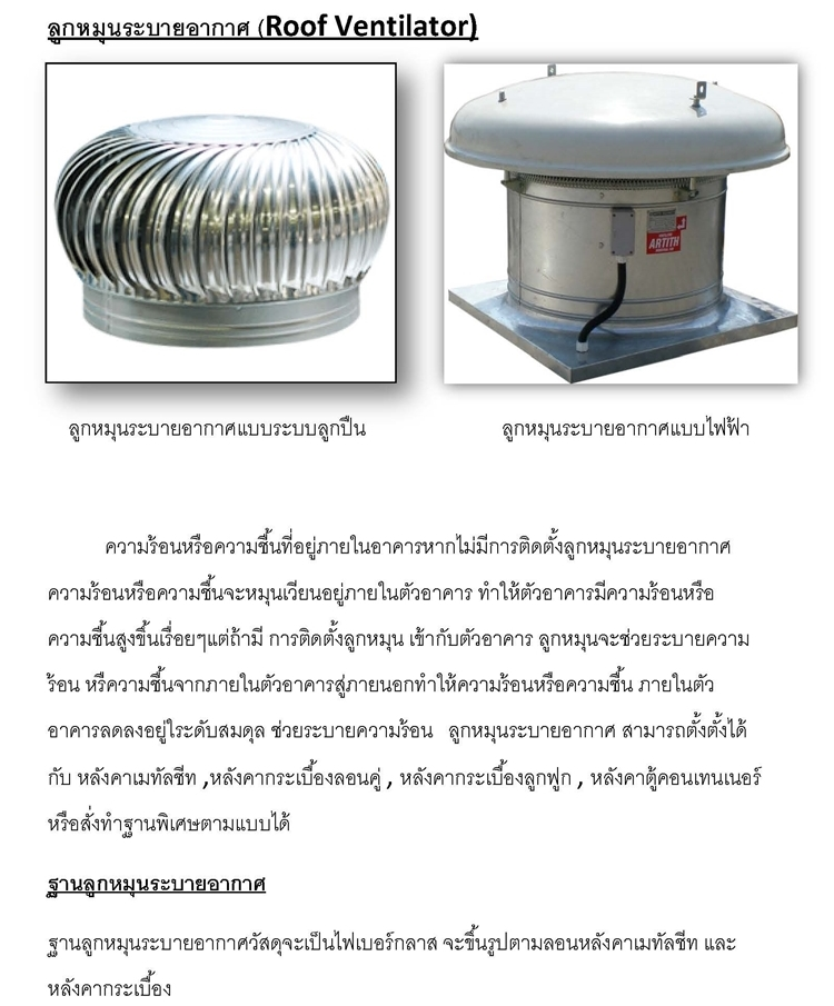 Fan Ventilator