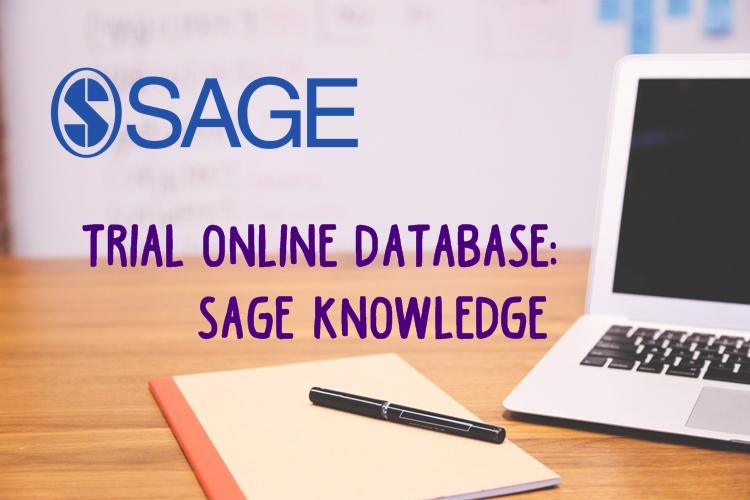 Trial Online Database: SAGE Knowledge