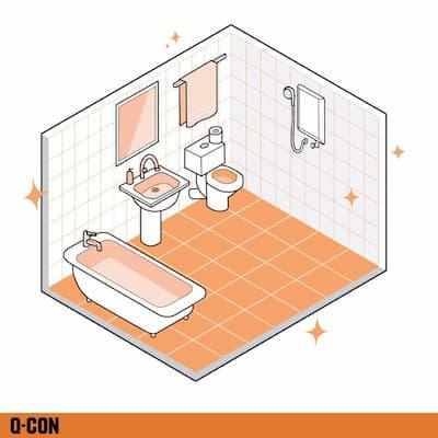 อิฐมวลเบาสามารถก่อผนังห้องน้ำได้ ไม่มีปัญหา