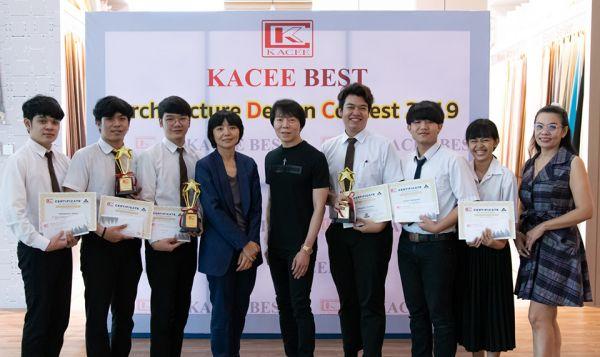 งานรับรางวัลการประกวดผลงานออกแบบภายใน โครงการ Kacee Best Architecture Design Contest 2019