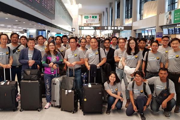 เดินทางศึกษาดูงานที่กรุงโตเกียว ประเทศญี่ปุ่น กับบริษัท อนันดา ดีเวลลอปเม้นท์ จำกัด