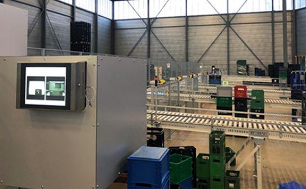 ตัวอย่างความสำเร็จของ Automation system ในธุรกิจขนส่งเพื่อคัดแยกกล่อง<br /> ด้วยระบบแมชชีนวิชั่น(Machine Vision) เพิ่มประสิทธิภาพการทำงานมากยิ่งขึ้นจาก Halcon