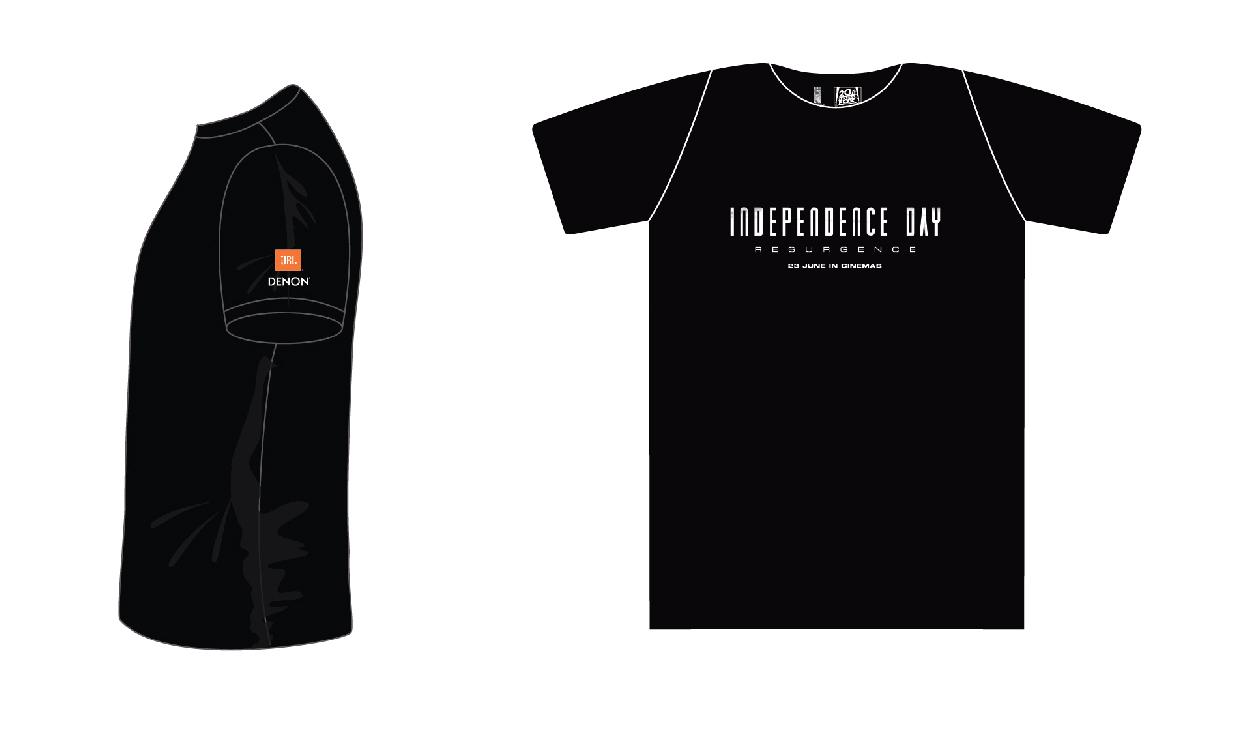 เสื้อคอกลม JBL DENON