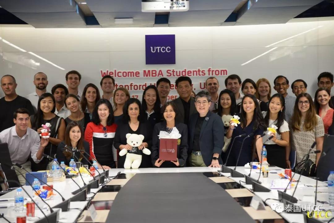 热烈欢迎美国斯坦福大学MBA研究生代表团访问我校