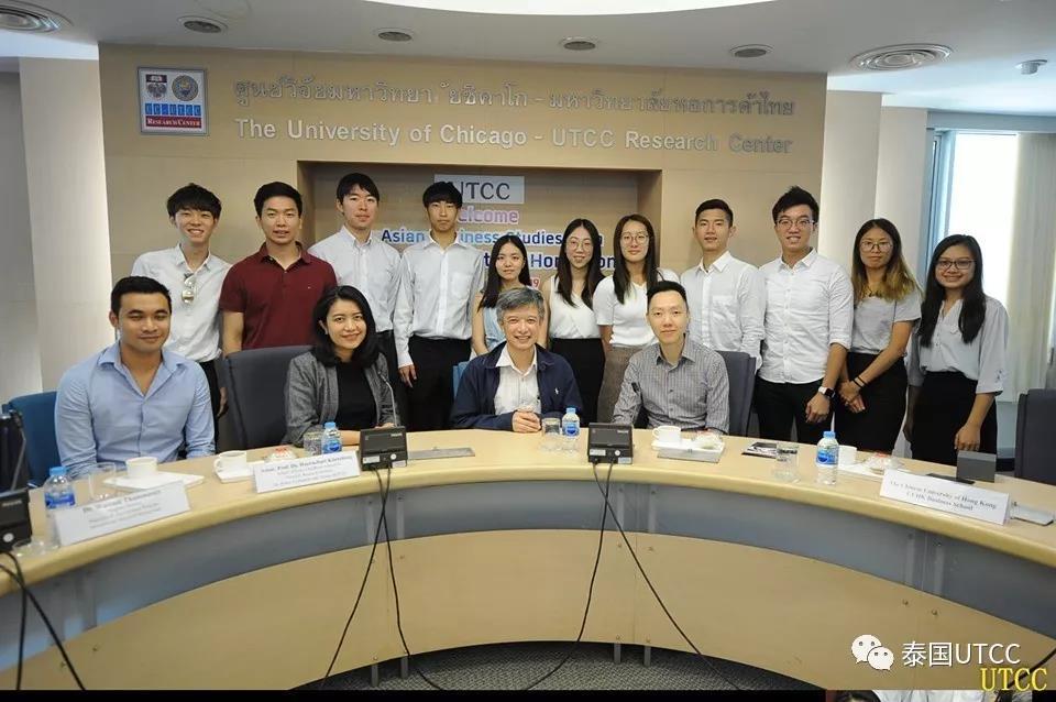 热烈欢迎香港中文大学考察团一行