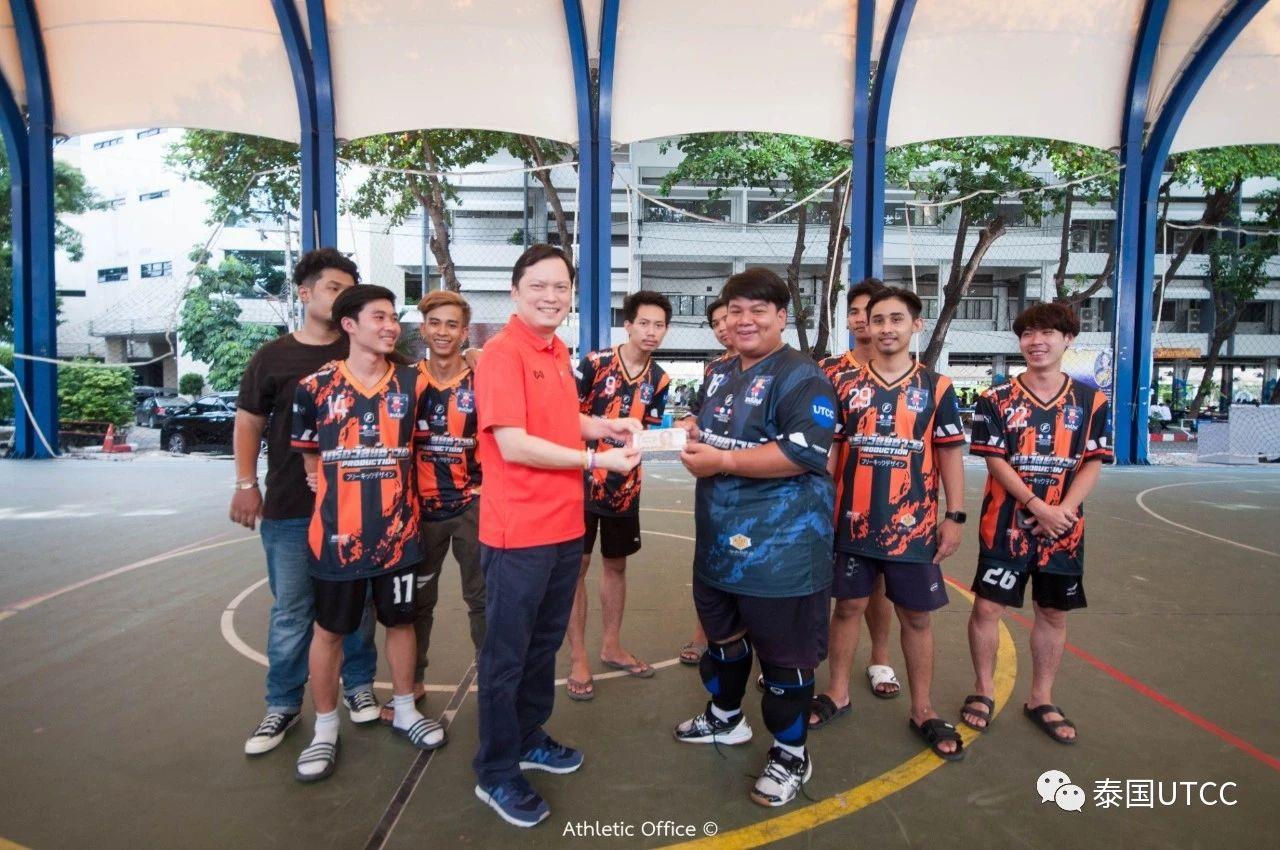 泰国商会大学杯第二届足球赛比赛结果
