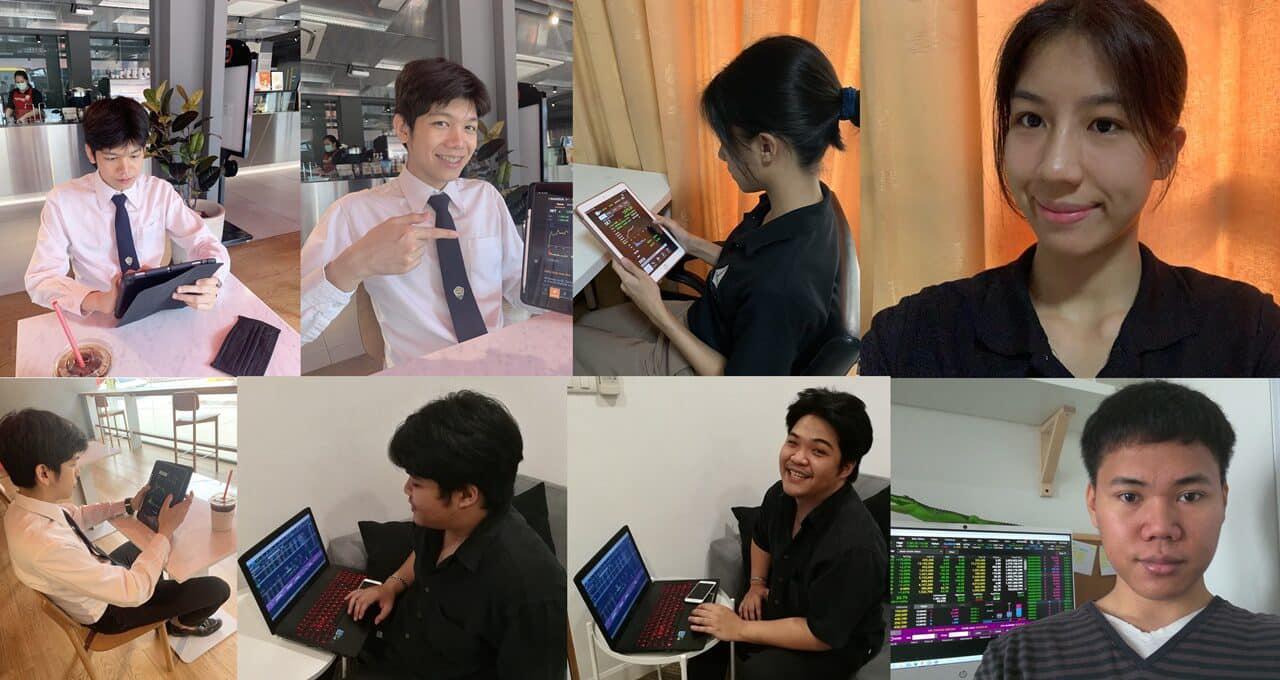 泰国商会大学商学院学生在泰国模拟炒股挑战大奖赛中斩获四大奖项