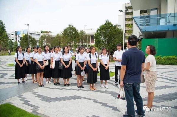 欢迎各位同学来到泰国商会大学!