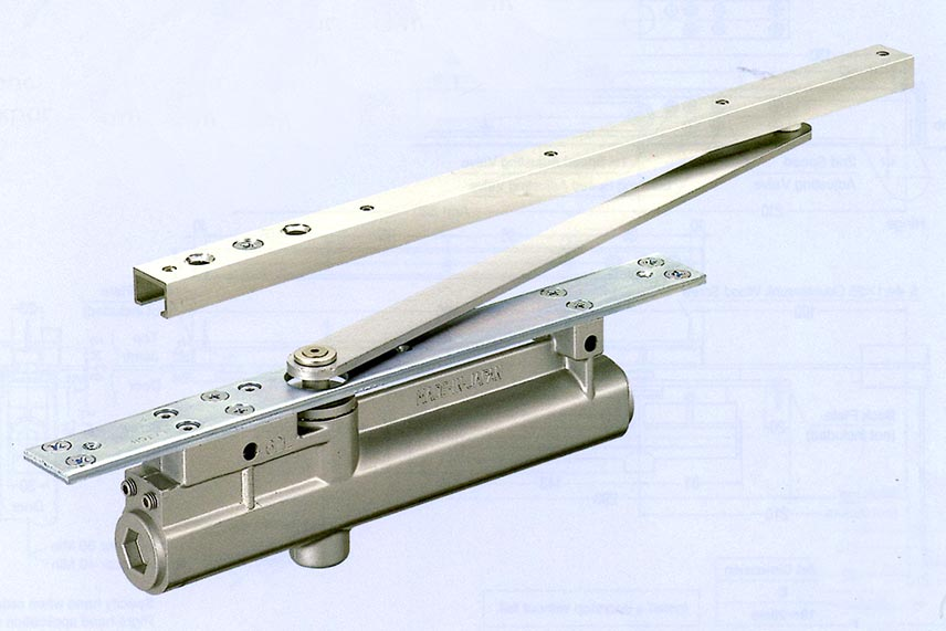 60 Series - Concealed Type with Single Sliding Arm