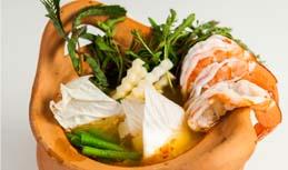 """แกงส้มพริกสดกุ้ง ผักรวม / """"Kang Som"""" Spicy Sour Soup with Shrimps"""