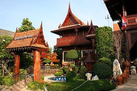 เรือนไทยแจ้งคำขำ <br>JangKhumKam Thai Hous