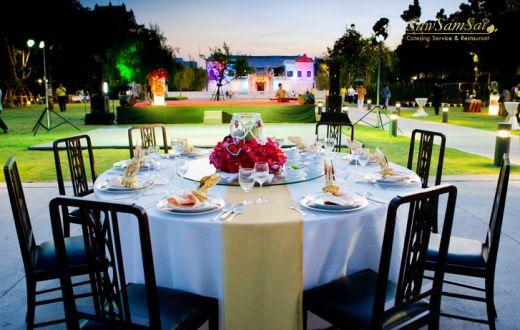 งานเลี้ยงปีใหม่ โต๊ะไทย VVIP