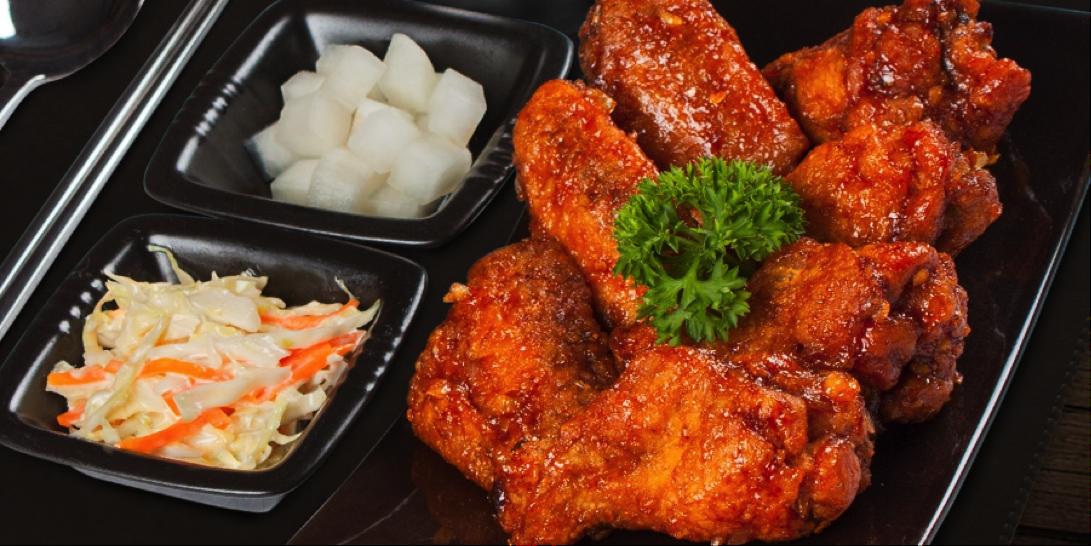 ไก่ทอดสไตล์เกาหลี