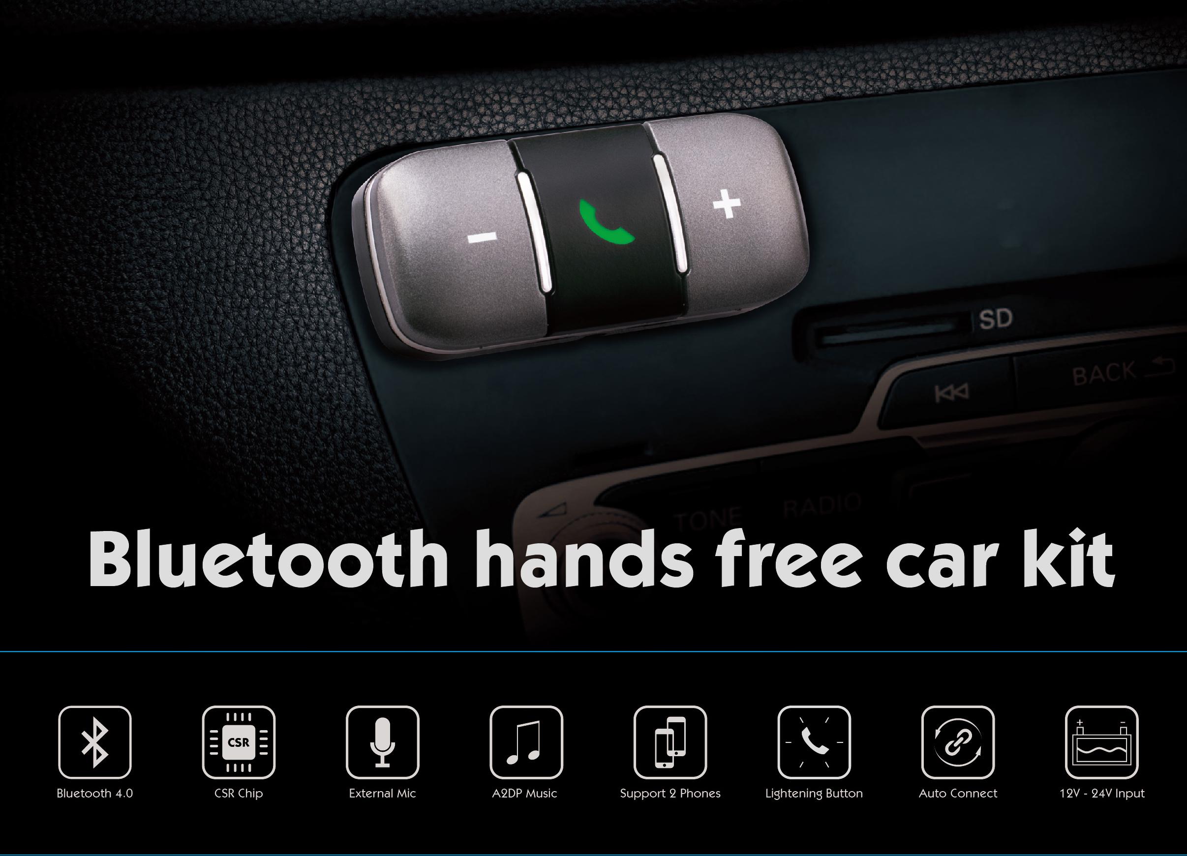 Bluetooth car kit speaker - Distar