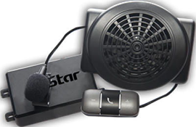 Bluetooth car kit speaker