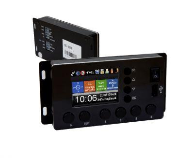 กล่องควบคุมระบบประกาศ และป้าย LED รุ่น DS-024B