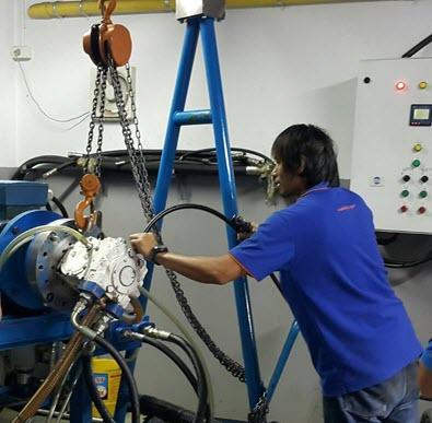 Overhoul Transit Mixer Pump